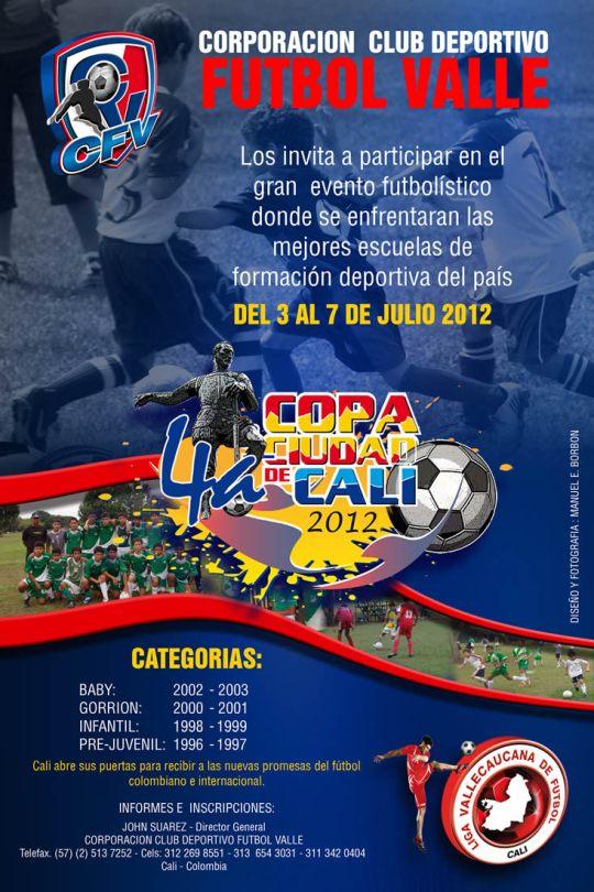 4ta COPA CIUDAD DE CALI 2012